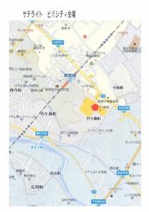 ビバシティ会場地図